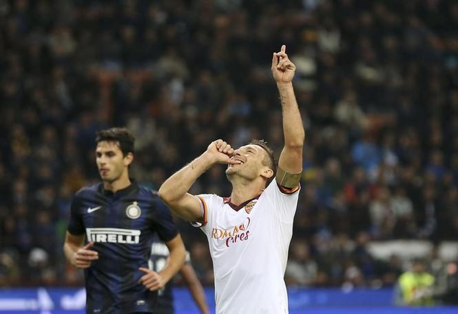 Xuất sắc nhất tuần qua chính là lão tướng Totti