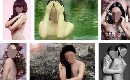 Trên các trang mạng ngập tràn ảnh mát mẻ của các cô gái vốn nặng nề hai chữ hot-girl (ảnh minh họa)