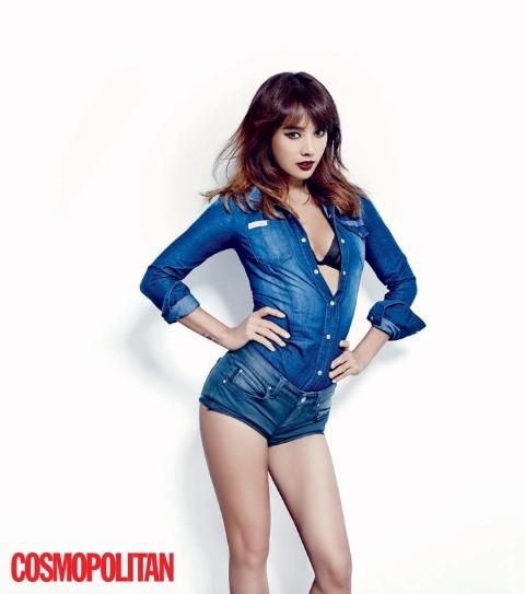 Lee Hyori táo bạo với nội y trên tạp chí - ảnh 4
