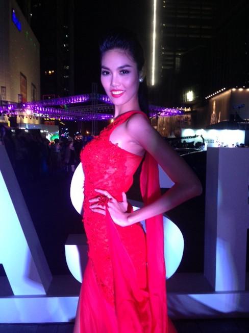 Lan Khuê vào top 5 Người mẫu thời trang châu Á - ảnh 1