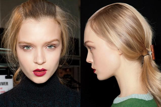 Kiểu tóc buộc gọn