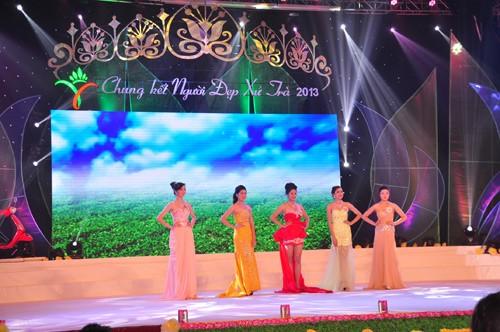 Hình ảnh đêm chung kết 'Người đẹp xứ Trà' 2013 - ảnh 21