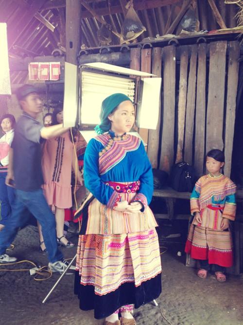Diễn viên series 'Chém chuối' làm cô dâu vùng cao - ảnh 5