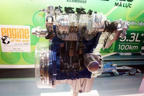 Mô hình mặt cắt động cơ EcoBoost