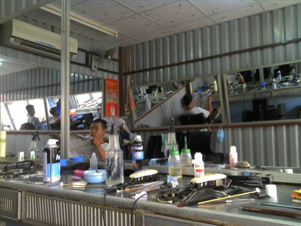 Tiệm hớt tóc Ngọc Quí trên đường Phan Đình Phùng, Phường 7, TP Trà Vinh