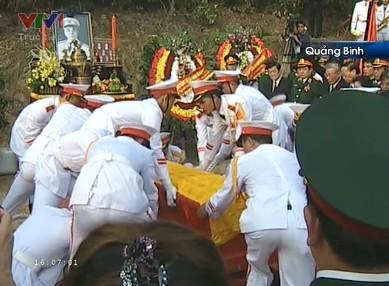 Đại tướng Võ Nguyên Giáp đã yên nghỉ trong lòng đất Mẹ - ảnh 22