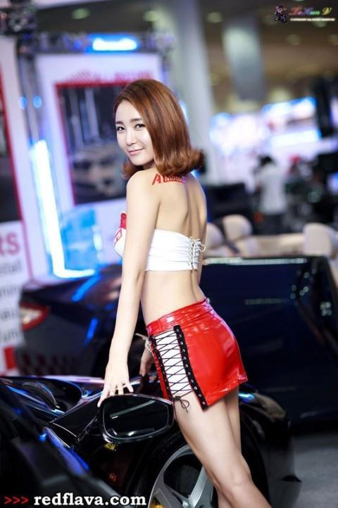 Sắc hồng quyến rũ tại triển lãm xế hộp Hàn Quốc - ảnh 6