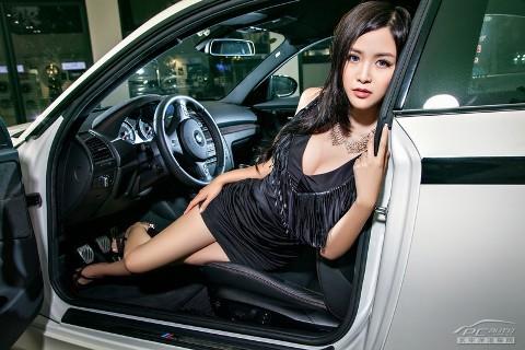 Mỹ nhân xinh như mộng bên BMW - ảnh 8