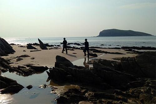 Vùng biển hoang sơ Đảo Yến