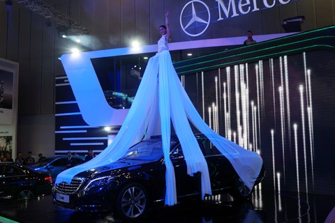 """Những cái """"nhất"""" trong triển lãm ô tô lớn nhất Việt Nam - ảnh 2"""