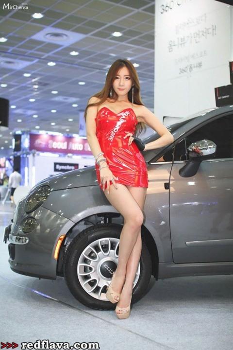 Sắc hồng quyến rũ tại triển lãm xế hộp Hàn Quốc - ảnh 13