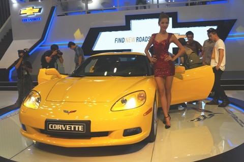 GM mang Corvette C6 tới triển lãm - ảnh 2