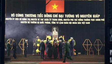 Video: Lễ viếng Đại tướng Võ Nguyên Giáp sáng 12/10 - ảnh 1