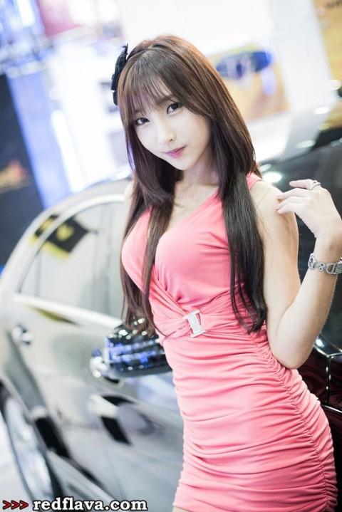 Sắc hồng quyến rũ tại triển lãm xế hộp Hàn Quốc - ảnh 14