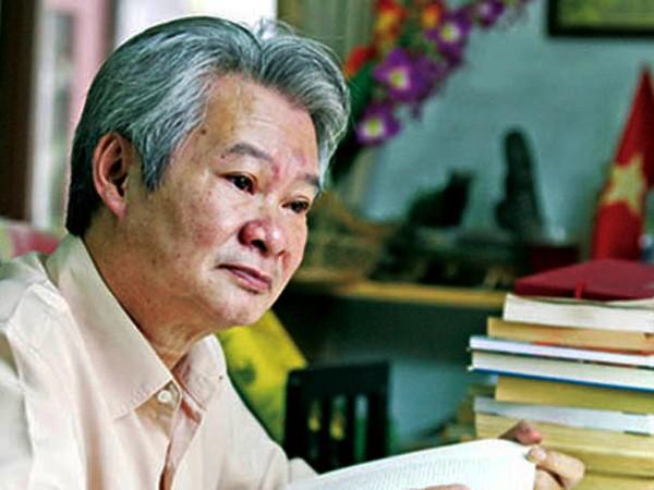 Triết gia Bùi Văn Nam Sơn.             Ảnh: T.L