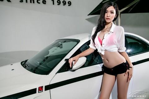 Mỹ nhân xinh như mộng bên BMW - ảnh 9