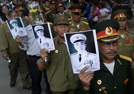 Quân dân cả nước dành nhiều tình cảm đặc biệt cho Đại tướng Võ Nguyên Giáp