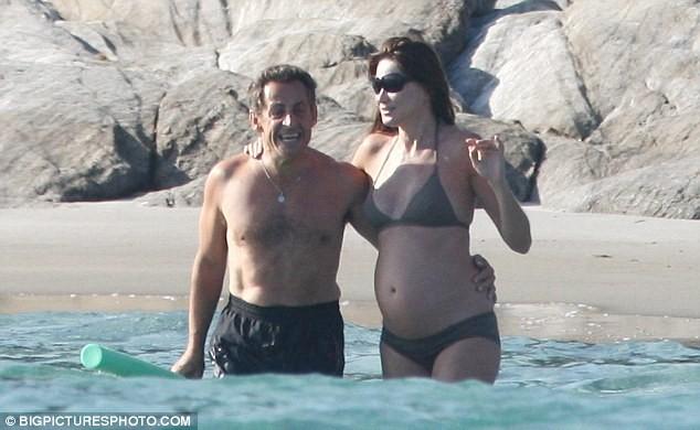 Phu nhân Tổng thống Pháp đẹp rạng rỡ khi mang bầu - ảnh 8