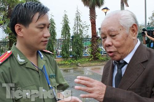 Cụ Lý bùi ngùi chia sẻ những hồi ức về Đại tướng Võ Nguyên Giáp