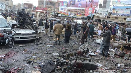 Đánh bom ở Pakistan, 115 người thiệt mạng - ảnh 3