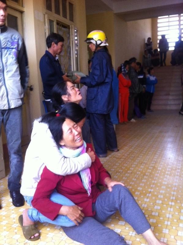 Gia đình đau đớn trước cái chết của hai mẹ con chị Xuân