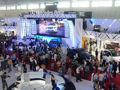 Triển lãm xe hơi lớn nhất Việt Nam khai màn - ảnh 1