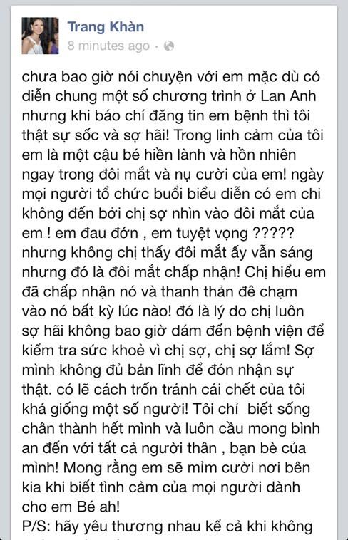 Facebook sao Việt 'đẫm lệ' tiễn biệt Wanbi Tuấn Anh - ảnh 9