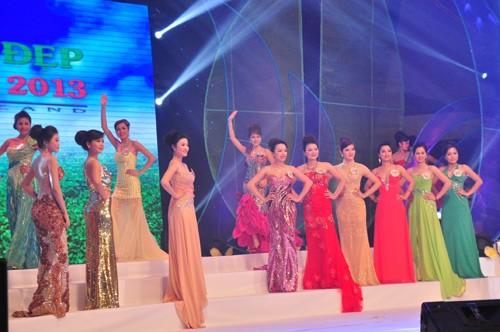 Hình ảnh đêm chung kết 'Người đẹp xứ Trà' 2013 - ảnh 25