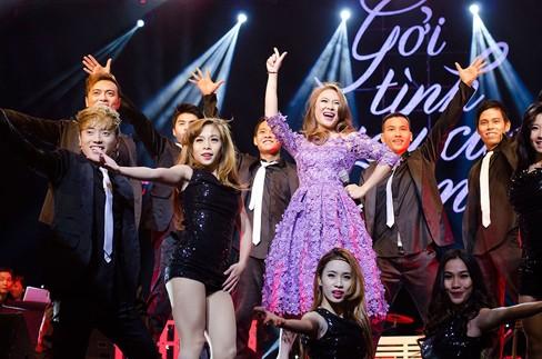 Thắng đề cử EMA Đông Nam Á, Mỹ Tâm hát cực 'sung' - ảnh 3