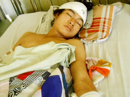Hung thủ Nguyễn Sang bật khóc khi nghĩ về tương lai