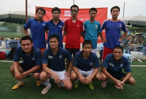 Đội bóng báo Thể thao và Văn hóa - nhà vô địch của VNG Cup 2012