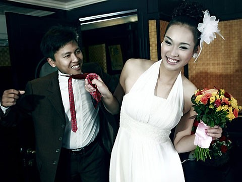 Ảnh cưới của Thu Phương và