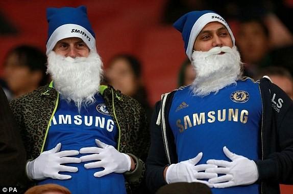 Ông già Noel có mang tới cho Chelsea 3 điểm ở trận đấu sáng nay, để làm quà Giang sinh?