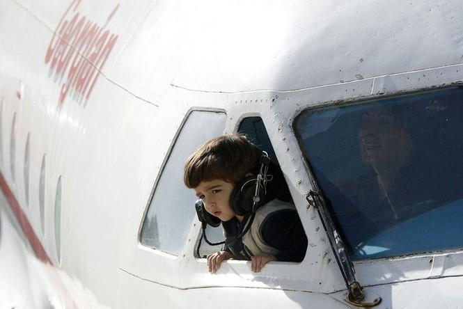 Biến máy bay thành lớp học mẫu giáo - ảnh 7