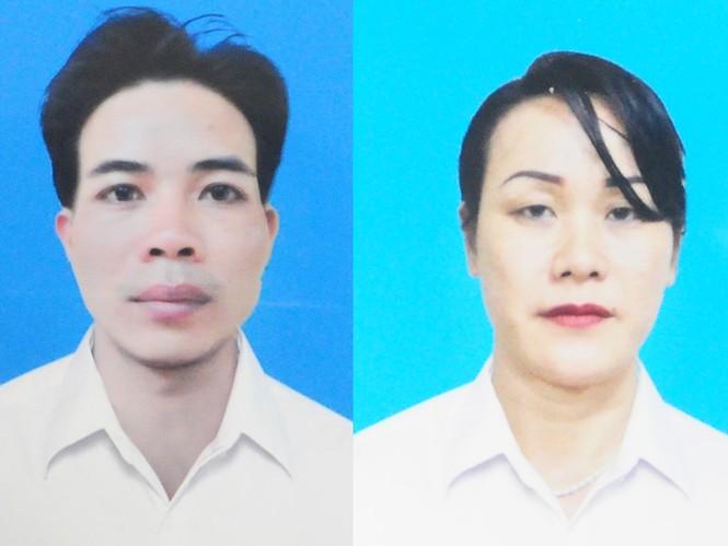 Đối tượng Nguyễn Văn Vương và đối tượng Vũ Thị Liên