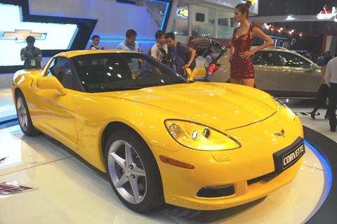 GM mang Corvette C6 tới triển lãm - ảnh 1