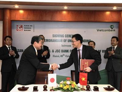 Vietcombank ký kết Biên bản ghi nhớ với ngân hàng Nhật Bản - ảnh 2
