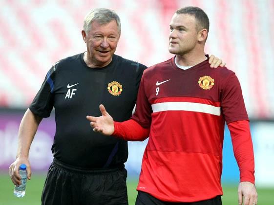 Sir Alex và cậu học trò Wayne Rooney