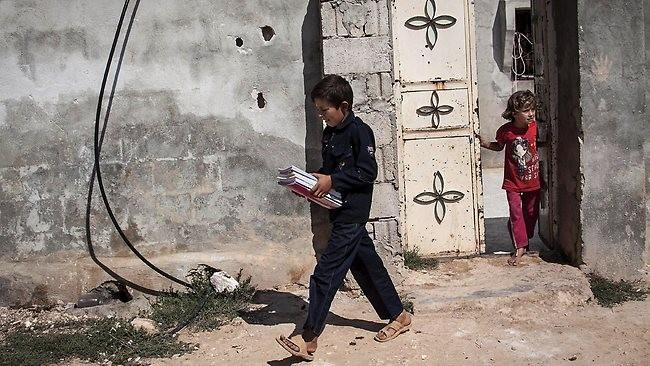 Trẻ em Syria đang đối mặt với sự thiếu thốn, đặc biệt là ngành giáo dục