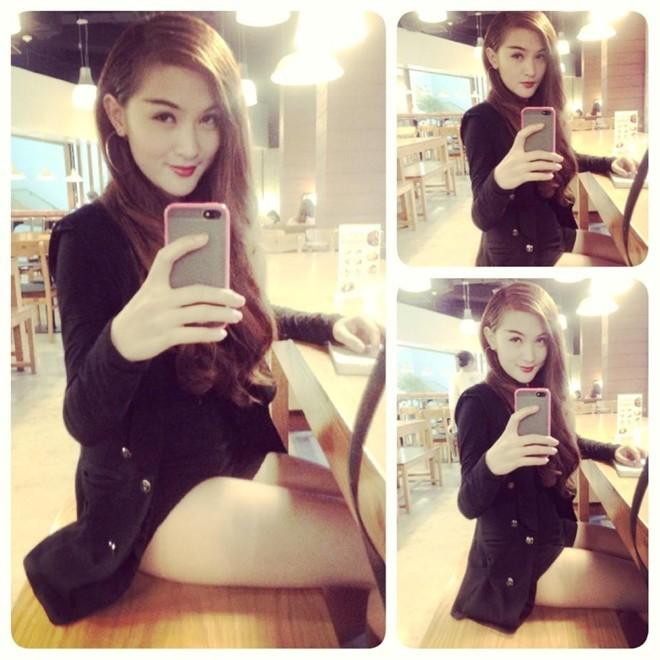 Hot girk Kelly Nguyễn gợi cảm với chiếc quần ngắn cũn