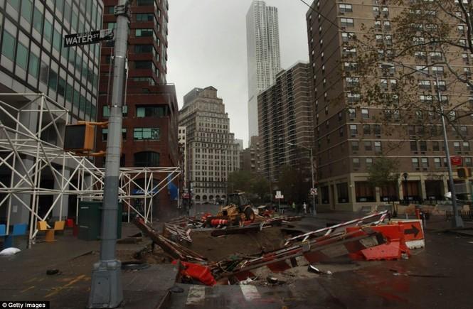 Hệ thống giao thông tại thành phố New York hư hỏng nặng nề