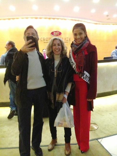 Miss Universe: Trương Thị May đã có mặt ở Moskva - ảnh 3