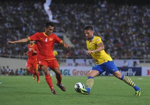 Trận đấu giữa ĐT Việt Nam và Arsenal không thuộc hệ thống các trận giao hữu cấp độ A của FIFA, nên đội tuyển Việt Nam không được cộng điểm từ trận đấu này