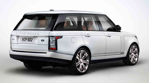 Range Rover có phiên bản trục cơ sở kéo dài - ảnh 3