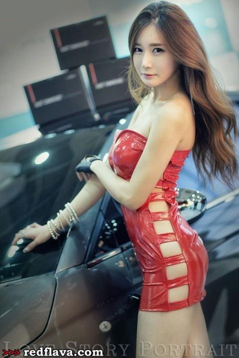 Sắc hồng quyến rũ tại triển lãm xế hộp Hàn Quốc - ảnh 4