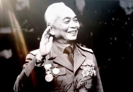 Đại tướng Võ Nguyên Giáp - vị lãnh tụ quân sự của nhân dân Việt Nam.