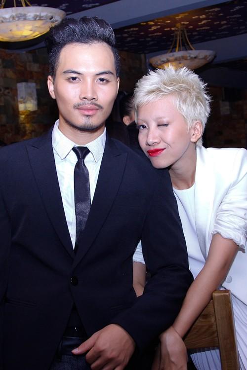 Phan Linh và Tạ Thúc Bình thân thiết vì có cùng sở thích âm nhạc