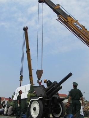 Đoàn xe tiêu binh ra Quảng Bình phục vụ tang lễ Đại tướng - ảnh 6