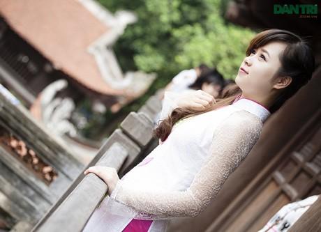 Nữ cán bộ Đoàn 9X xinh đẹp, học giỏi HV Tài chính - ảnh 1