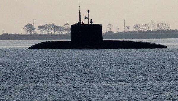 Tàu ngầm Kilo 636 (Nguồn: RIA Novosti)